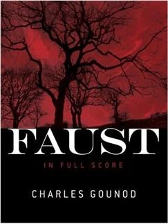 Charles Gounod: Faust  (Full Score) Books   Opera