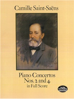 Camille Saint-Saëns: Piano Concertos Nos. 2 And 4 In Full Score Books | Piano, Orchestra