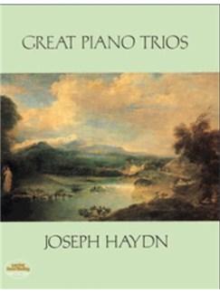 Joseph Haydn: Great Piano Trios (Score) Books | Violin, Cello, Piano Chamber, Chamber Group