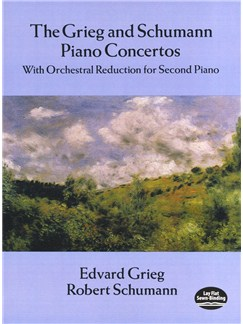 Grieg And Schumann Piano Concertos: With Orchestral Reduction for Second Piano Books | Two Pianos