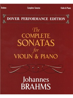 Johannes Brahms: The Complete Sonatas - Violin/Piano Books | Violin, Piano Accompaniment