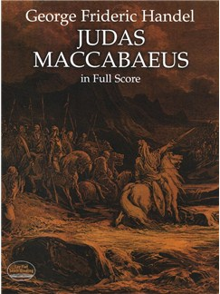 G.F. Handel: Judas Maccabaeus - Full Score Books | Voice, Orchestra