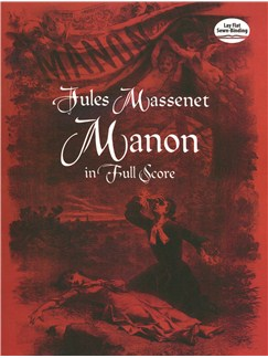 Jules Massenet: Manon In Full Score Books | Orchestra
