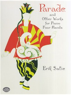 Parade, La Belle Excentrique And Other Works For Piano Four Hands Books | Piano Duet, Piano