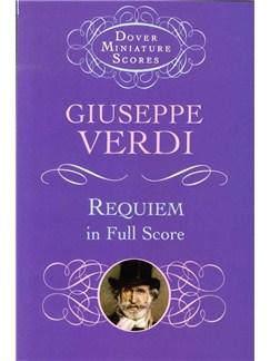 Giuseppe Verdi: Requiem (Dover Miniature Scores) Books | Voice, Orchestra