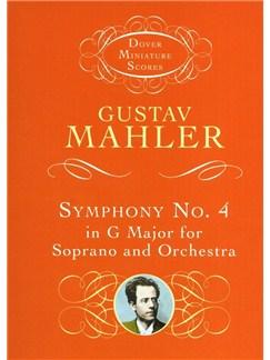 Gustav Mahler: Symphony No.4 In G - Soprano/Orchestra (Miniature Score) Books | Soprano, Orchestra