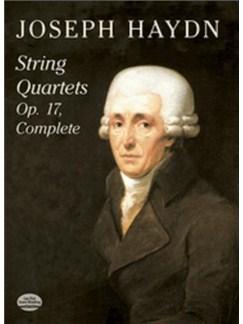 Joseph Haydn: String Quartets Op. 17 Complete Books | String Quartet