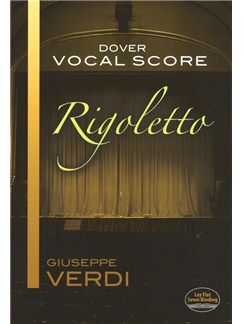 Giuseppe Verdi: Rigoletto (Vocal Score) Books | Voice, Piano Accompaniment