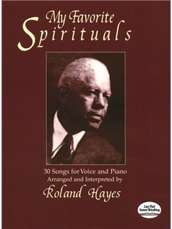 Roland Hayes: My Favorite Spirituals Books | Voice, Piano Accompaniment