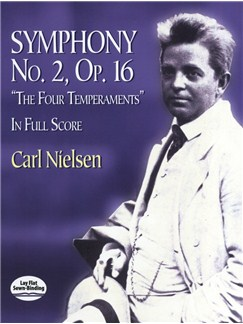 "Carl Nielsen: Symphony No.2 Op.16 ""The Four Temperaments"" - Full Score Books 