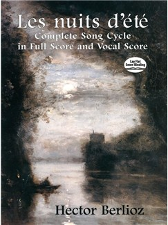 Hector Berlioz: Les Nuits D'Eté - Complete Song Cycle In Full Score And Vocal Score Books | Orchestra