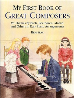 My First Book Of Great Composers Books | Piano