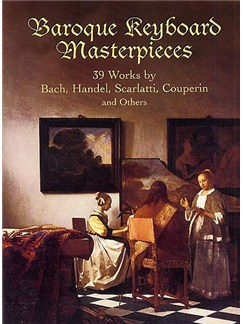 Baroque Keyboard Masterpieces Books | Keyboard Instruments