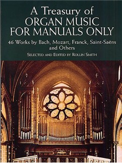 A Treasury Of Organ Music For Manuals Only Books | Organ