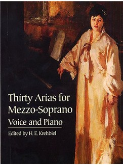 Thirty Arias For Mezzo-Soprano Books | Mezzo-Soprano, Piano Accompaniment