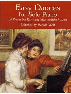 Easy Dances For Piano Solo Books | Piano