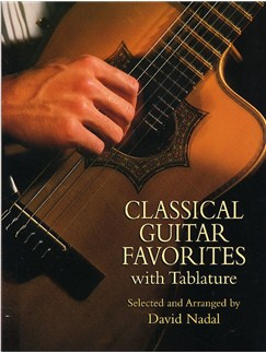 Classical Guitar Favorites With Tablature Books | Guitar Tab, Classical Guitar