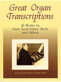 Great Organ Transcriptions Books   Organ