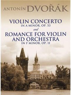 Antonin Dvorak: Violin Concerto In A Minor Op.53 And Romance For Violin And Orchestra In F Minor Op.11 Books | Violin, Orchestra