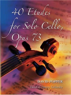 David Popper: 40 Etudes For Solo Cello Op.73 Books | Cello