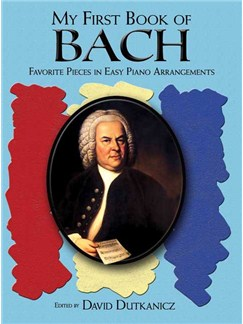 My First Book Of Bach Books | Piano