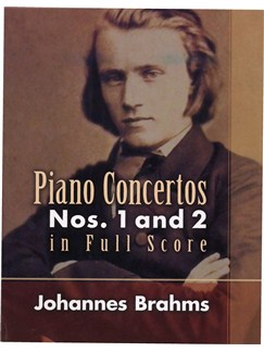 Johannes Brahms: Piano Concertos Nos. 1 And 2 In Full Score Books | Orchestra