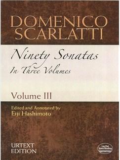 Domenico Scarlatti: Ninety Sonatas In Three Volumes - Volume III Books | Piano