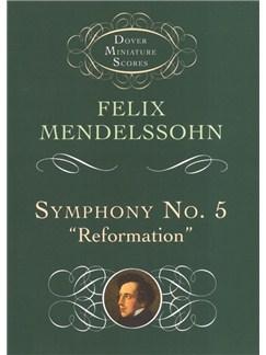"Felix Mendelssohn: Symphony No.5 ""Reformation"" (Dover Miniature Score) Books | Orchestra"