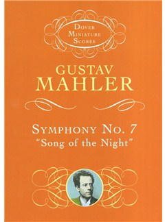 "Gustav Mahler: Symphony No.7 ""Song Of The Night"" (Dover Miniature Score) Books 