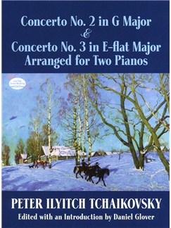 P.I. Tchaikovsky: Concerto No.2 In G & Concerto No.3 In E Flat Books | Piano Duet