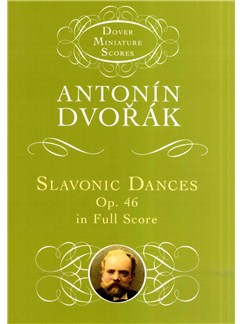 Antonin Dvorak: Slavonic Dances Op.46 (Study Score) Books | Orchestra
