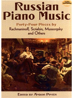 Russian Piano Music - 44 Pieces By Rachmaninoff, Scriabin, Mussorgsky And Others Books | Piano