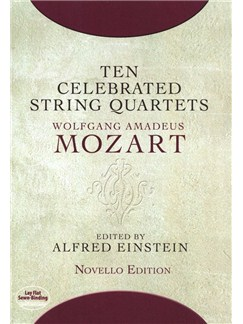 W.A. Mozart: Ten Celebrated String Quartets Books | String Quartet