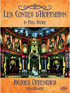 Jacques Offenbach: Les Contes D'Hoffmann In Full Score Books | Orchestra