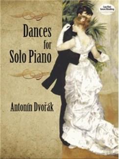 Antonin Dvorák: Dances For Solo Piano Books | Piano