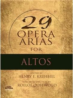 Twenty-Nine Opera Arias For Alto Books | Alto