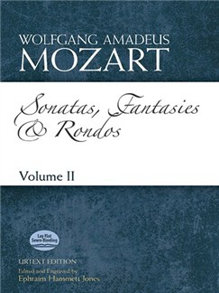 Mozart: Sonatas, Fantasies And Rondos Urtext Edition - Volume II Books | Piano