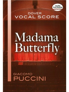 Giacomo Puccini: Madame Butterfly (Vocal Score) Books | Opera
