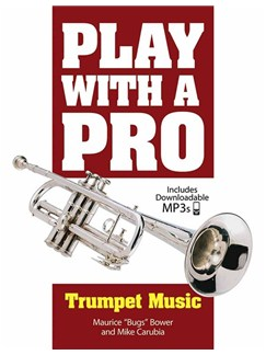 Play With A Pro: Trumpet Music Books | Trumpet