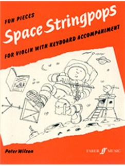 Space Stringpops (Violin And Piano) Books | Violin