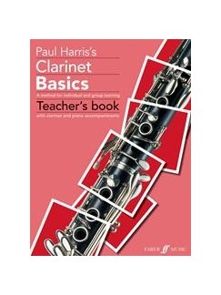 Paul Harris: Clarinet Basics (Teacher's Book) Books | Clarinet