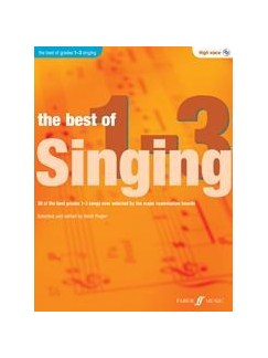 The Best Of Singing Grades 1-3 (High Voice) Books and CDs | High Voice