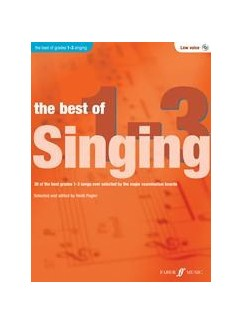 The Best Of Singing Grades 1-3 (Low Voice) Books and CDs | Low Voice