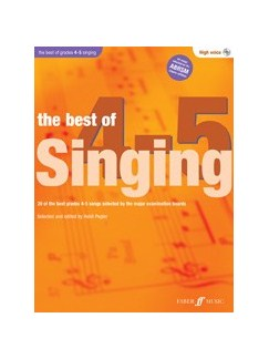 The Best Of Singing Grades 4-5 (High Voice) Books and CDs | High Voice
