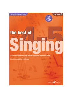 The Best Of Singing Grades 4-5 (Low Voice) Books and CDs | Low Voice