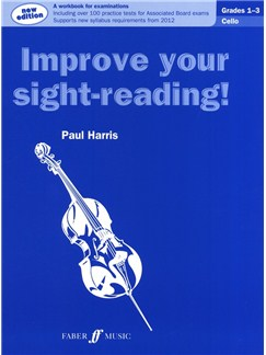 Improve Your Sight-Reading! Cello Grade 1-3 (2012 Edition) Books | Cello