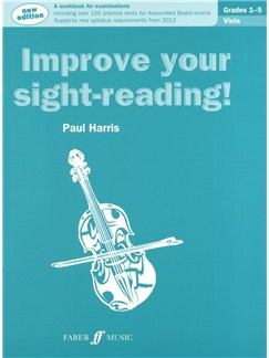 Paul Harris: Improve Your Sight-Reading! - Grade 1-5 Viola (2012 Edition) Books | Viola