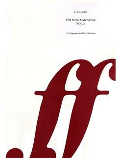 G.F. Handel: Ten Solo Cantatas Volume 2 Books   Soprano, Continuo