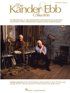 The Kander And Ebb Collection Bog | Stemme, Klaverakkompagnement