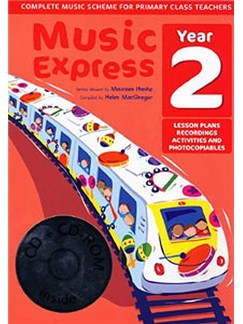 Music Express: Year 2 (Ages 6-7) Books, CD-Roms / DVD-Roms and CDs |